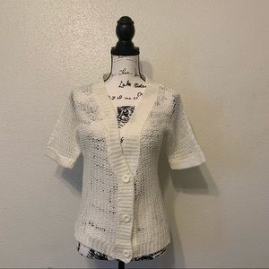 Poof Excellence Crochet Cardigan Sweater